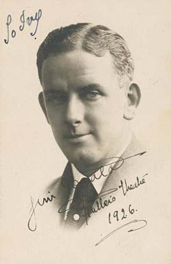 James Gerald (1891-1971), by unknown photographer, c1926