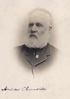 Andrew Spencer Chirnside (1818-1890), by unknown photographer