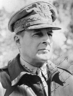 Douglas MacArthur (1880-1964), by unknown photographer