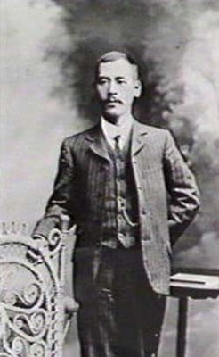 Yasukichi Murakami (1880-1944), by unknown photographer