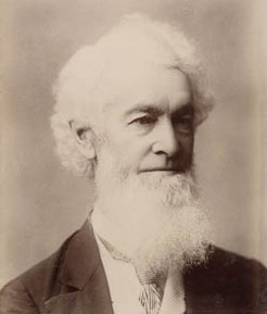 John Hay (1816-1892), by unknown photographer
