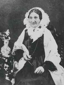Mary Thomas (1787-1875), by unknown photographer, c1870