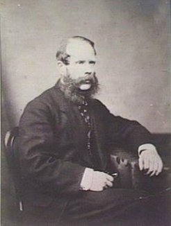 Benjamin Herschel Babbage (1815-1878), by unknown photographer, c1860