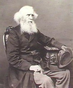 Charles Hervey Bagot (1788-1880), by unknown photographer, c1880