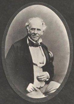 George Barney (1792-1862), by unknown photographer, c1860
