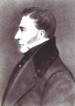 Francis Burgess (1793-1864), by unknown artist (photographed by J. W. Beattie)