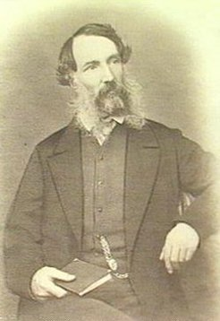 Edward John Eyre (1815-1901), by unknown photographer, c1860
