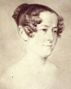 Lady Jane Franklin, by William Paul Dowling, c1840