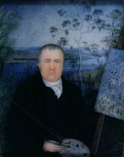 John Glover (1767-1849), attributed to Mary Morton Allport, c1832