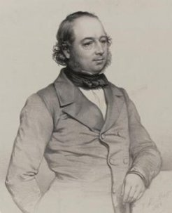 John Gould (1804-1881), by Thomas Herbert Maguire, 1849?
