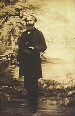 Jacob Hagen (1805-1870), by unknown photographer, c1885