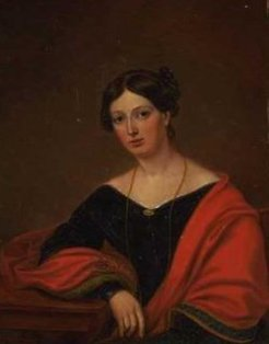 Mary Theresa Vidal (1815-1873), by unknown artist