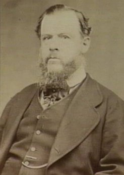 Frederick Palgrave Barlee (1827-1884), by Alfred Choppin, c1870