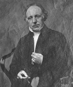 Thomas Binney (1798-1874), by unknown photographer