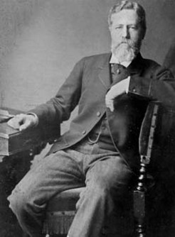 John Bramston (1832-1921), by unknown photographer