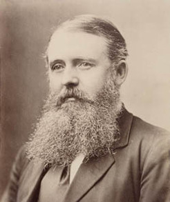 John Fitzgerald Burns (1833-1911), by unknown photographer