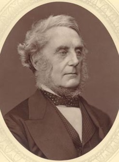 Edward Cardwell (1813-1886), by Lock and Whitfield, 1876-78