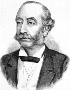 fourth Earl of Carnarvon (1831-1890), by unknown engraver