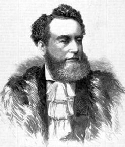 Godfrey Downes Carter (1830-1902), by unknown engraver