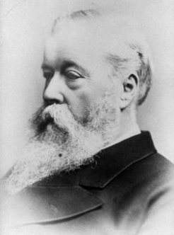 Hugh Culling Eardley Childers (1827-1896), by unknown photographer