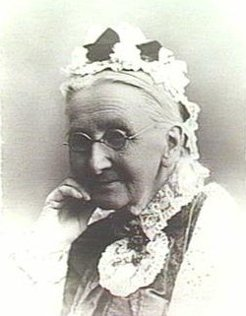 Caroline Emily Clark (1825-1911), by unknown photographer, c1885