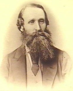 John Howard Clark (1830-1878), by unknown photographer, c1870