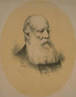 William Branwhite Clarke (1798-1878), by unknown engraver, 1878?