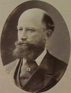 William John Clarke (1831-1897), by Johnstone, O'Shannessy & Co, c1885