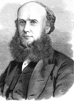 James Corrigan (1823-1871), by Samuel Calvert, 1871