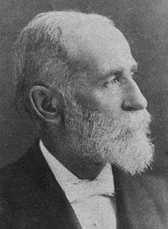James Cosh (1838-1900), by unknown photographer