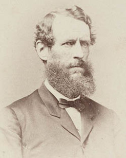 George Henry Cox (1824-1901), by unknown photographer