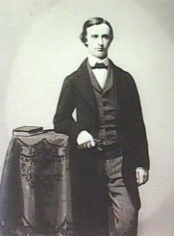 Joseph Crompton (1840-1901), by unknown photographer