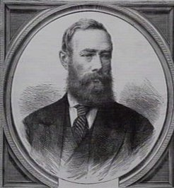 Richard Daintree (1832-1878), by unknown engraver, 1873