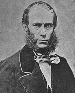 John Bayley Darvall (1809-1883), by unknown photographer