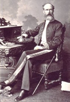 Frank Stanley Dobson (1835-1895), by unknown photographer