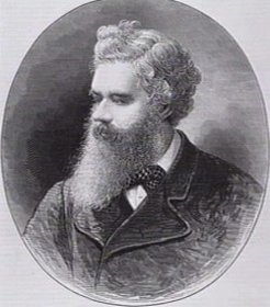 John Douglas (1828-1904), by unknown engraver, 1877