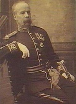 Major Francis Downes (1834-1923), by unknown photographer, 1890