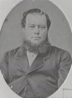 Richard Driver (1829-1880), by unknown photographer, 1878