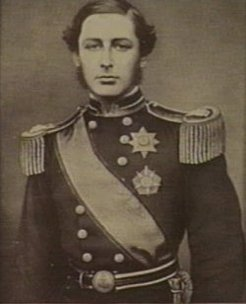 Duke of Edinburgh, by unknown photographer, c1867