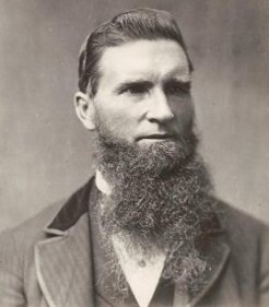 James Fletcher (1834-1891), by unknown photographer