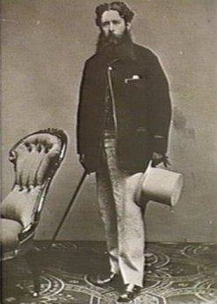 William Henry Gaunt (1830-1905), by unknown photographer