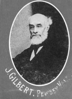 Joseph Gilbert (1800-1881), by unknown photographer
