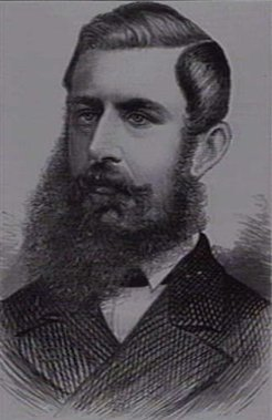 George Rogers Harding (1838-1895), by unknown engraver, 1879