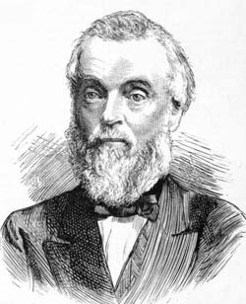 George Harker (1816-1879), by unknown engraver, 1879