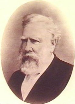 John Hart (1809-1873), by unknown photographer