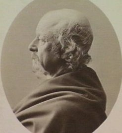 Richard Henry Horne (1802-1884), by Batchelder & O'Neill, 1869