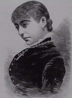 Myra Kemble (1857-1906), by unknown engraver