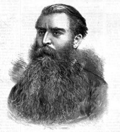 William George Lawes (1839-1907), by unknown engraver