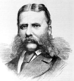 George Collins Levey (1835-1919), by unknown engraver