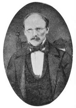 Carl Ferdinand August Linger (1810-1862), by unknown photographer, c1860